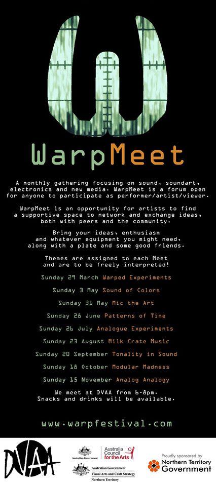 WarpMeet WebPoster